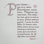 Lord's Prayer in Latin